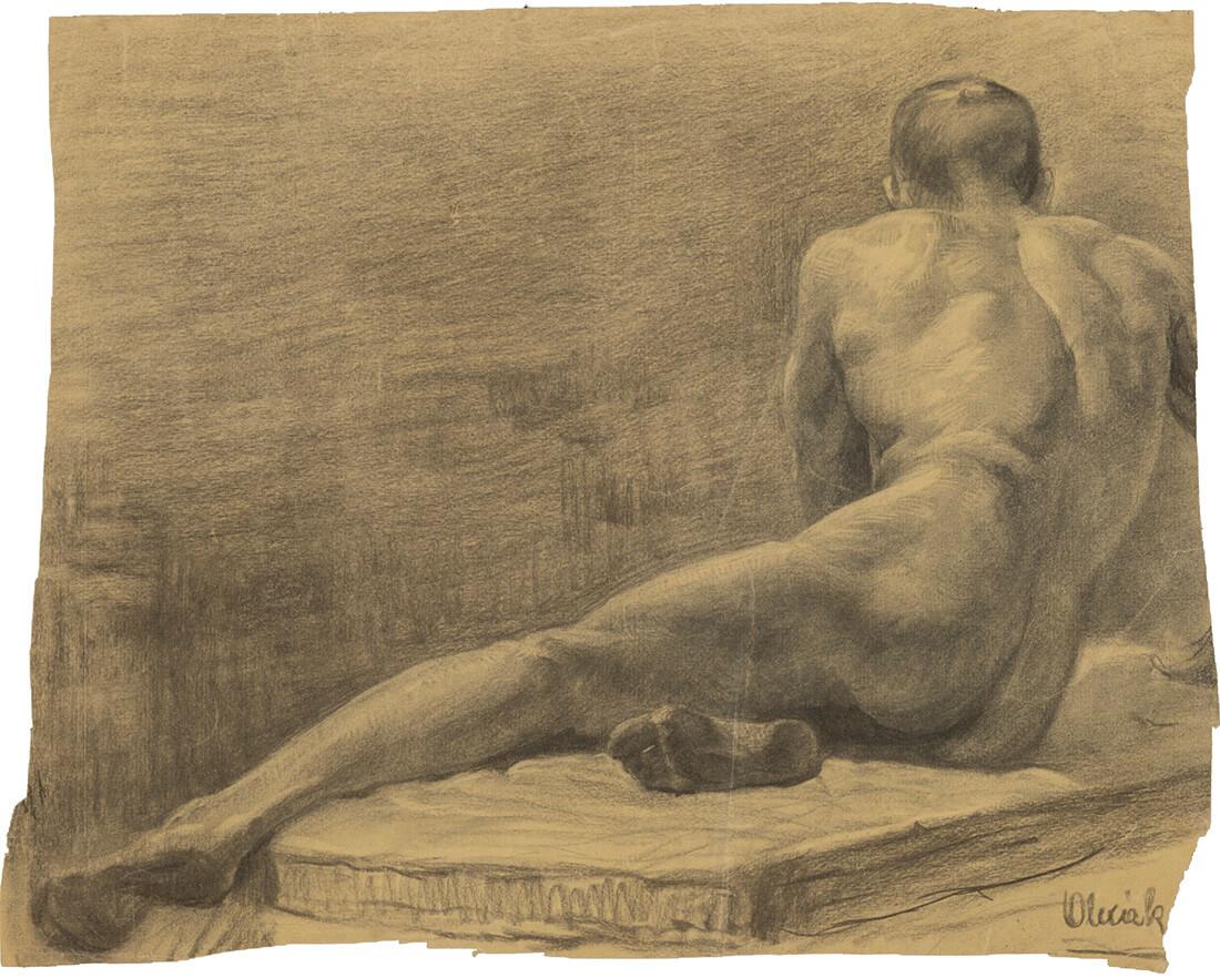 gallery-image-Štúdia sediaceho mužského aktu