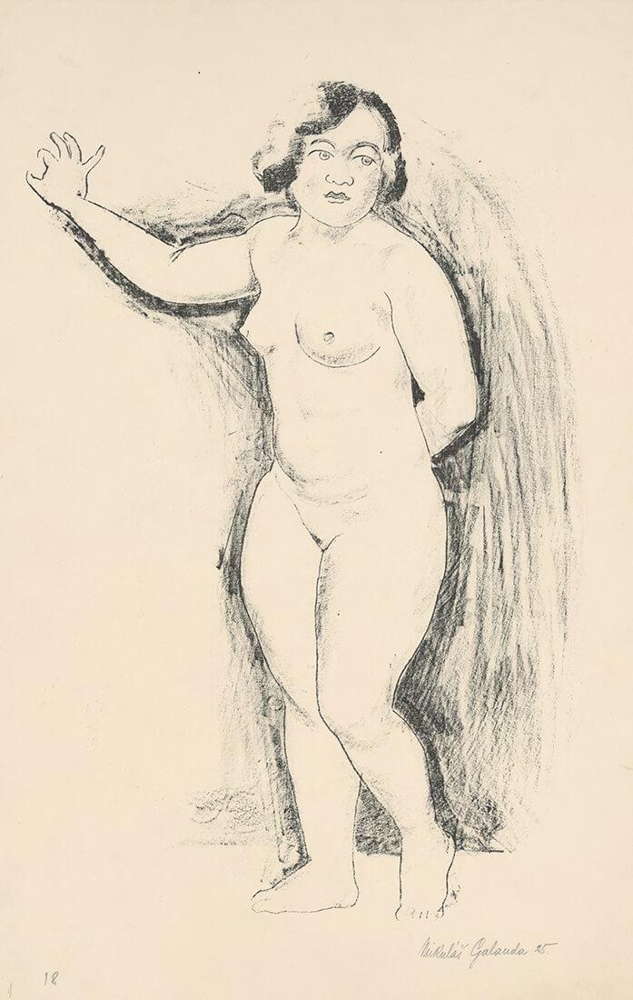 gallery-image-Ženský stojaci akt
