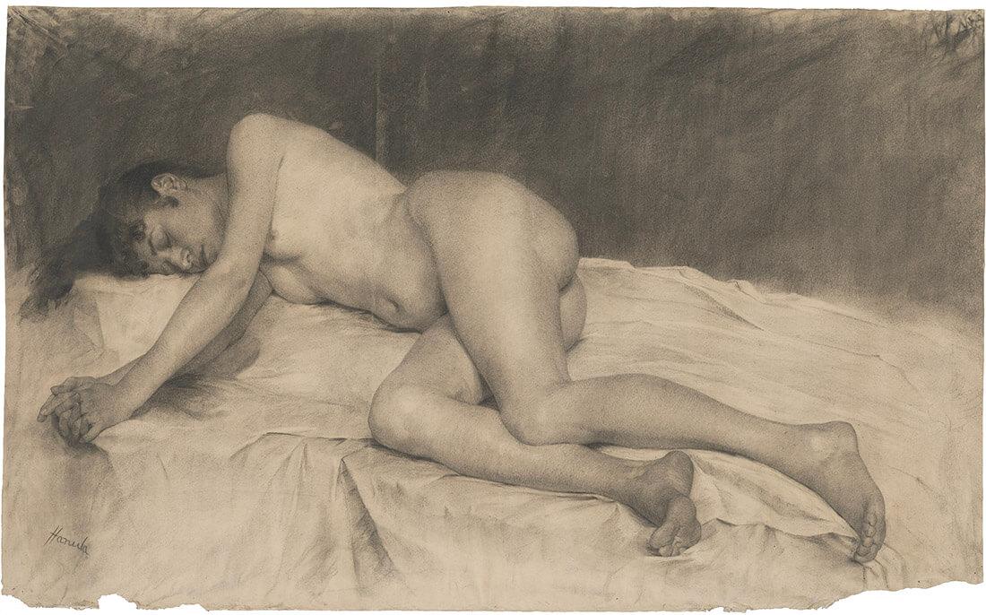 gallery-image-Ležiaci ženský akt