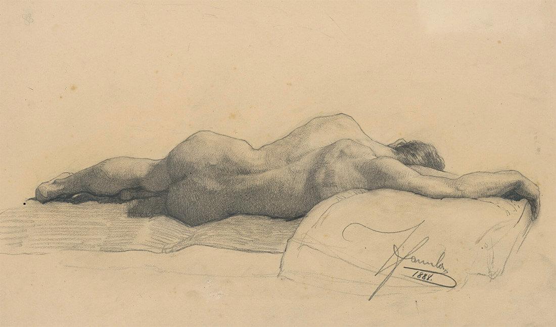 gallery-image-Ležiaci mužský akt