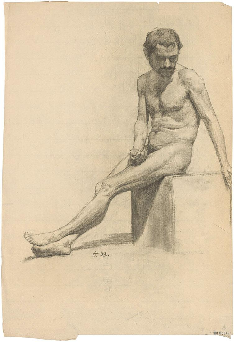 gallery-image-Sediaci mužský akt
