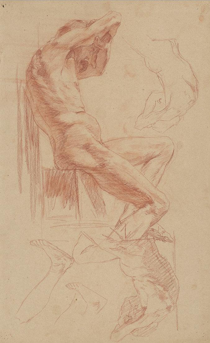 gallery-image-Štúdia sediaceho aktu